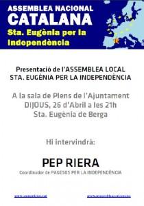 Sta. Eugènia per la Independència